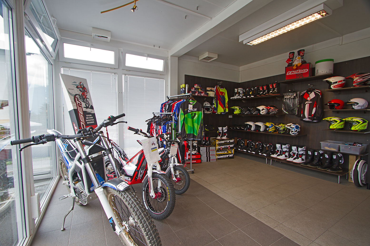 oset gasgas e trial bike park in hoch imst. Black Bedroom Furniture Sets. Home Design Ideas